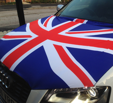 Car Bonnet Flags