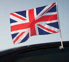 Car Window Flags