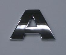 chrome letter a