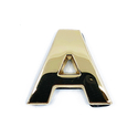 Gold Letter 'A'