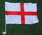 England Car Window Flag