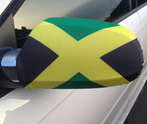 Jamaica Car Mirror Flag