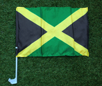 Jamaica Jack Car Window Flag
