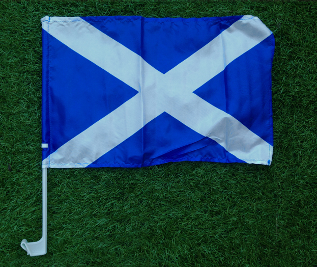Scotland Car Window Flag