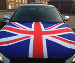 Union Jack Car Bonnet Flag