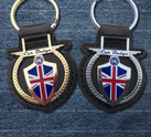 Custom Made Leather Keyfobs