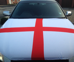 England Car Bonnet Flag