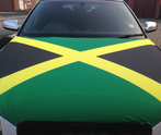 Jamaica Car Bonnet Flag