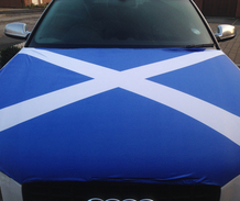 Scotland Car Bonnet Flag