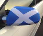 Scotland Car Mirror Flag
